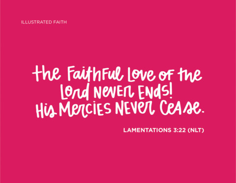 Sunday Inspiration from Lamentations 3:22