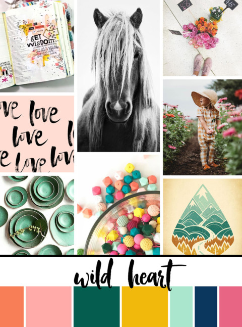 August Artist Mood Board & New Releases: Wild Heart