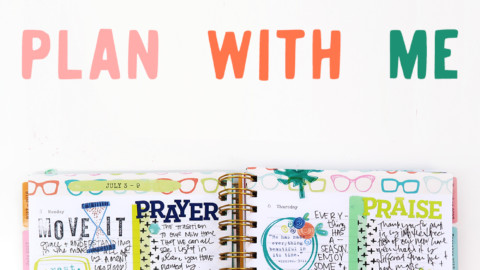 VIDEO: plan with me | when you have a crazy week ahead!