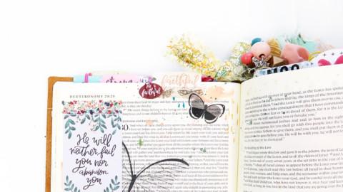 I Am Faithful : A Bible Journaling Process Video