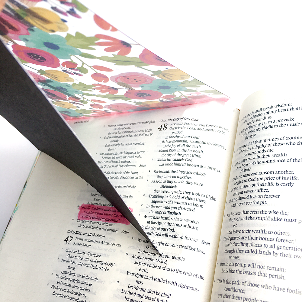 mixed media bible journaling tutorial by Heather Greenwood | 3 ways to use clear cuts in your Bible Journaling