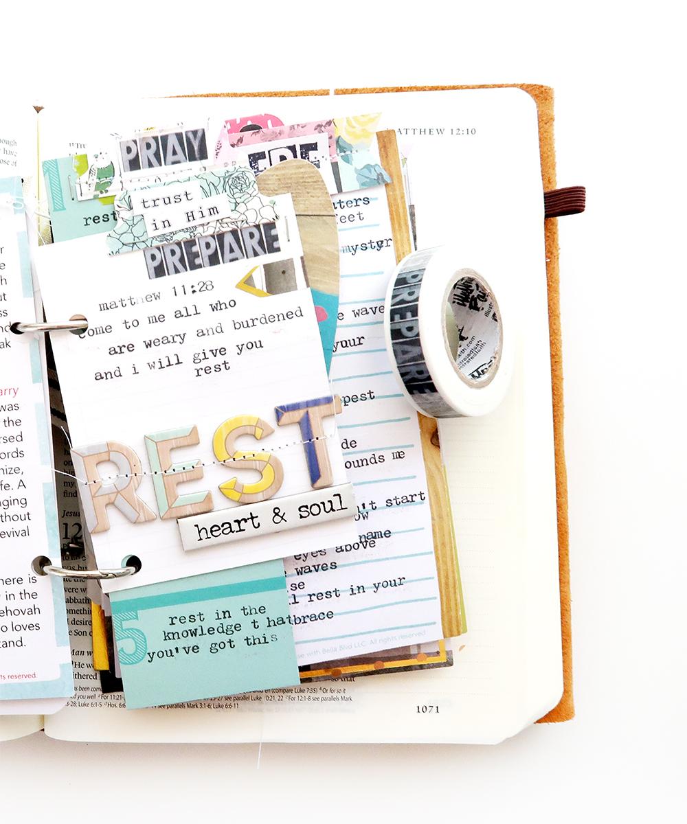 Bible Journaling Kit Persevere