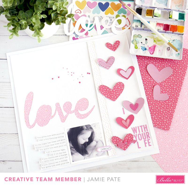 Bella Blvd Creative Team Round Up - August 2017 | scrapbooking and cardmaking using Illustrated Faith Collections