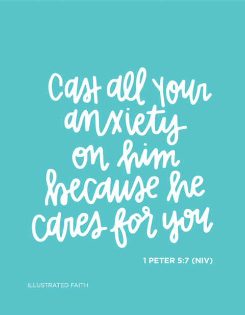 Sunday Inspiration from 1 Peter 5:7