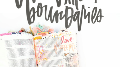 Bible Journaling About What We Are Called To Do | LOVE