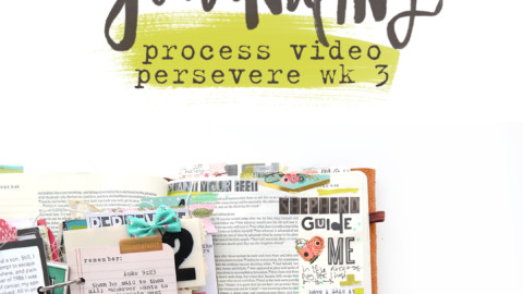 Bible Journaling & Perseverance | Process Video