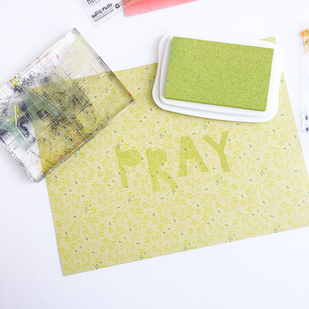 mixed media Bible journaling entry by Heather Greenwood | 1 Thessalonians 5:17 | It's OK to pray ugly prayers