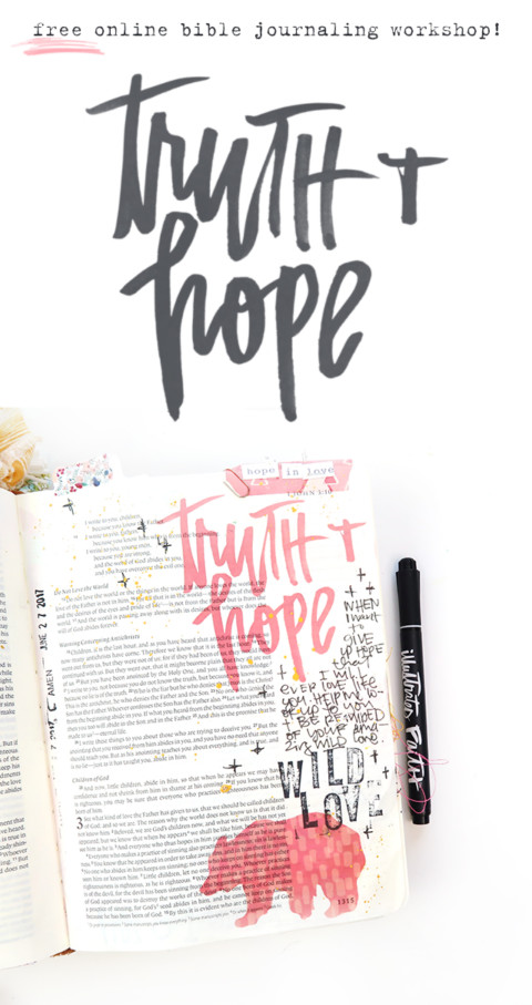 Join us for Revival Camp 2017! A Free Online Bible Journaling Workshop!