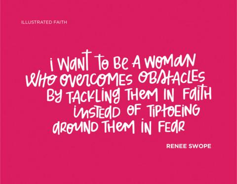 Sunday Inspiration from Renee Swope