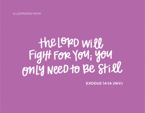 Sunday Inspiration from Exodus 14:14