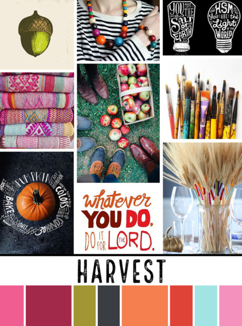 October Artist Mood Board & New Releases: Harvest