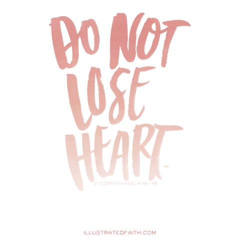 Sunday Inspiration from 2 Corinthians 4:16-18