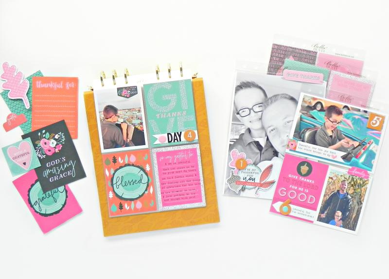 Gratitude Documented Inspiration from the Bella Blvd Creative Team - Gratitude Documented 6x8 Mini Album by Stephanie