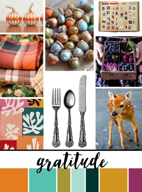 November Artist Mood Board & New Releases: Gratitude