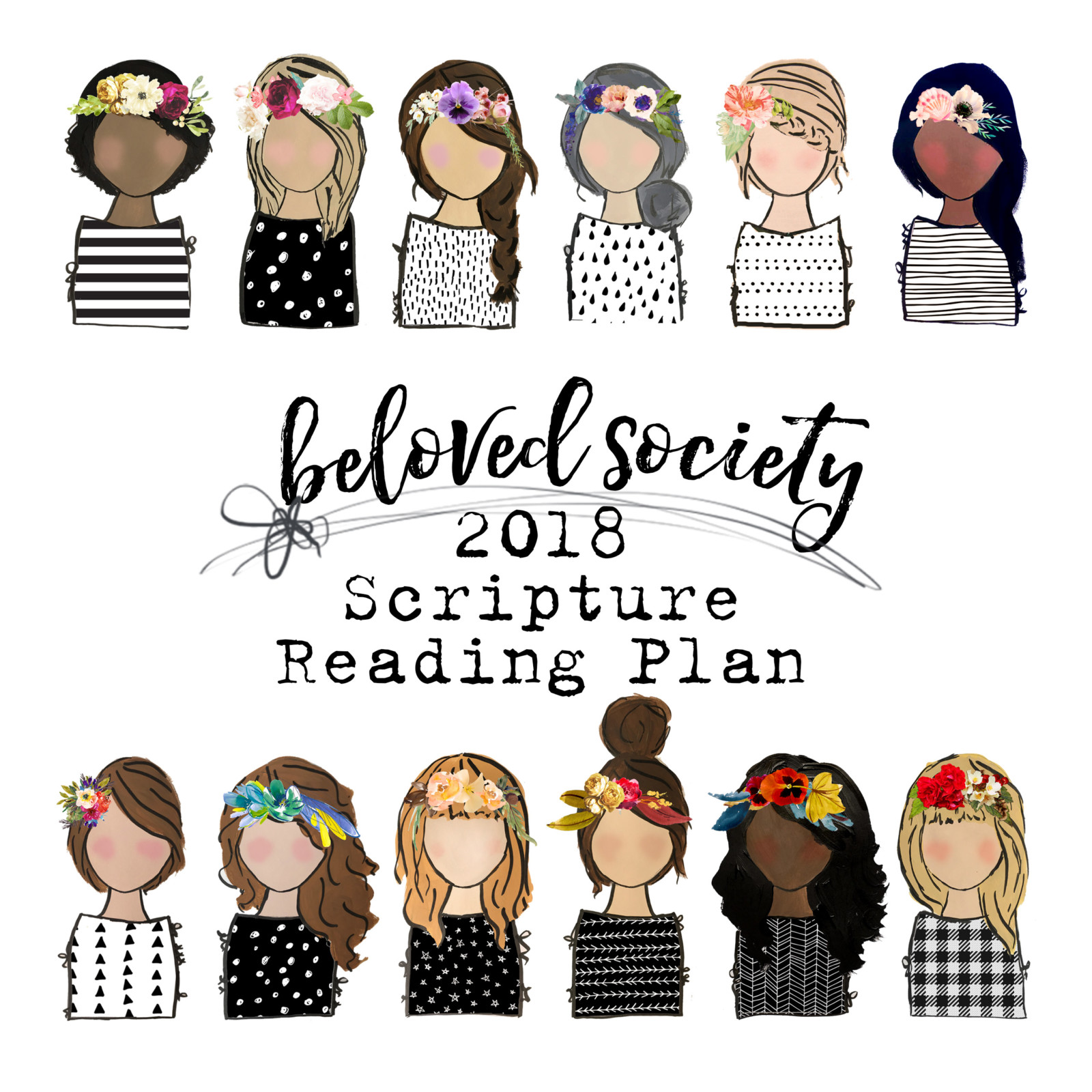 Beloved Society 2018 Scripture Reading Plan