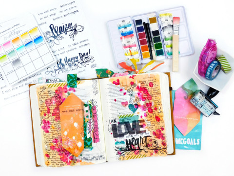 Mixing Printables with Devotional Kits