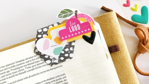 Bible Journaling Layered Tabs Tutorial | #tabcrush