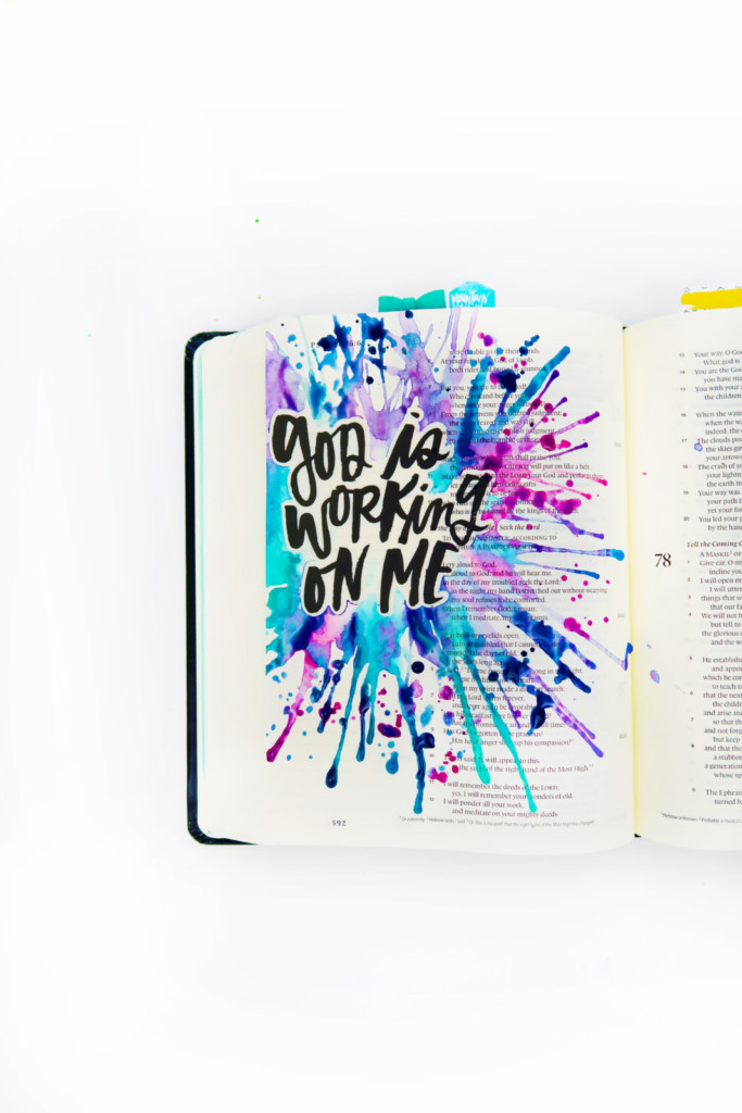WINTER 2018 | ILLUSTRATED FAITH STICKER BOOKLETS for Bible journaling