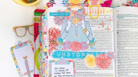Hybrid Bible Journaling | Unstoppable
