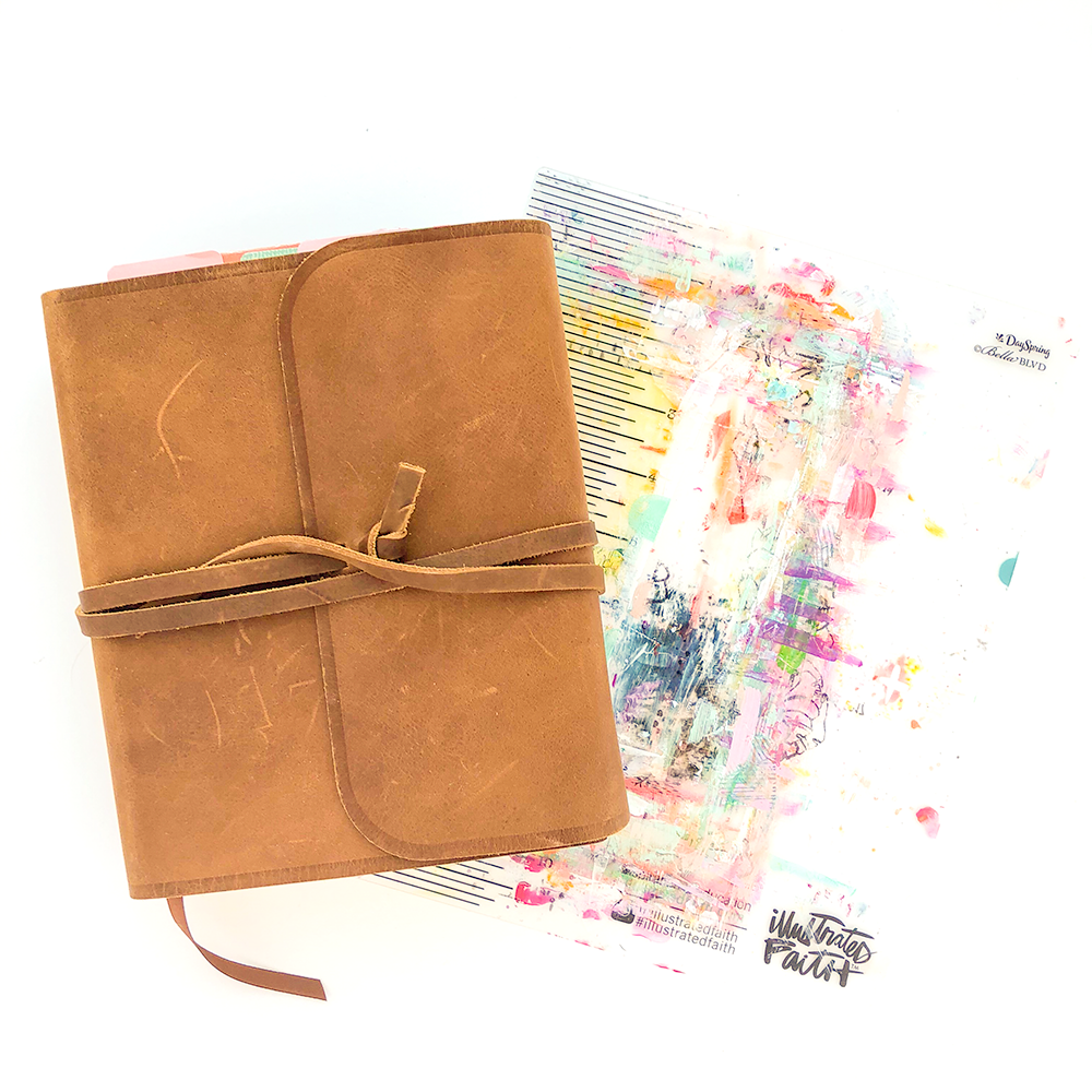 Mixed Media Bible Journaling Supplies - Travel Edition with Heather Greenwood