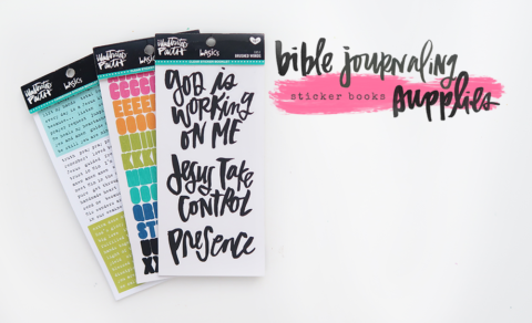 NEW RELEASE | ILLUSTRATED FAITH STICKER BOOKLETS