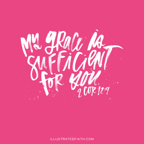 Sunday Inspiration from 2 Corinthians 12:9