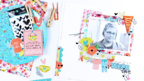 Hybrid Scrapbooking | Always Strive to Wear Love