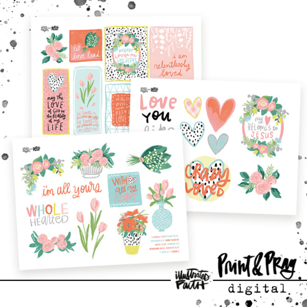 Illustrated Faith Crazy Love Printable