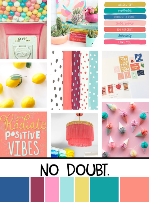 May Artist Mood Board & New Releases: No Doubt