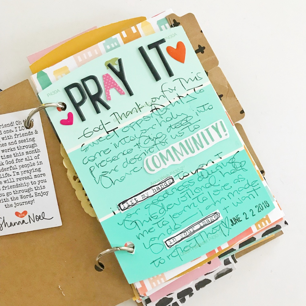 DIY Booklet Flip Through with April Crosier | Digging Deeper into the Devotionals | Stronger Together Devotional Kit