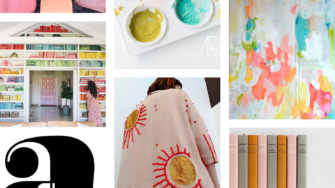 June Artist Mood Board & New Releases: Glass Half-Full
