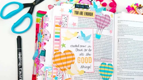 Print and Pray Bible Journaling | Good Things