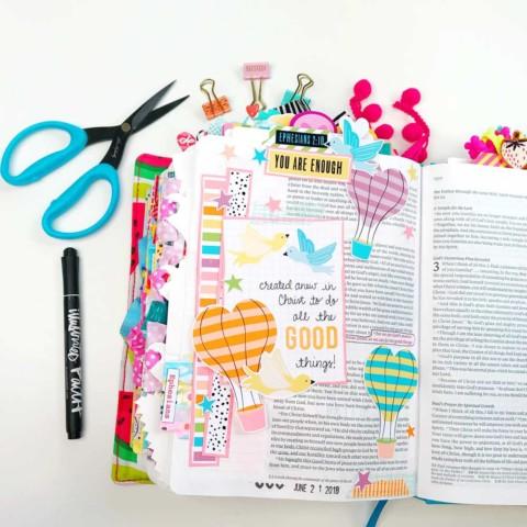 Print and Pray Bible Journaling | Good Things