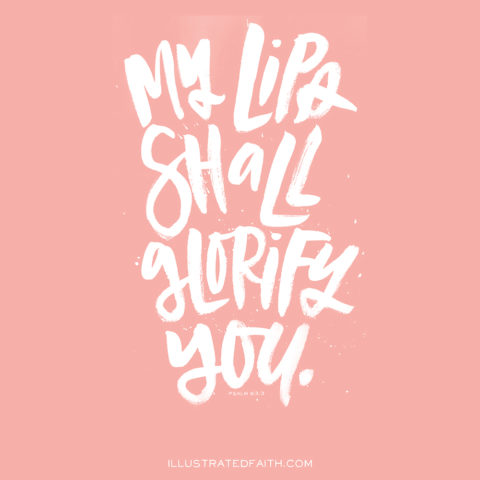 Sunday Inspiration from Psalm 63:3