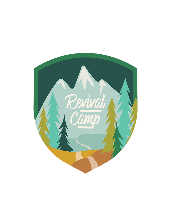 Illustrated Faith Revival Camp 2018 Landing Page
