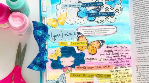 Hybrid Print and Pray Bible Journaling | Precious Hearts