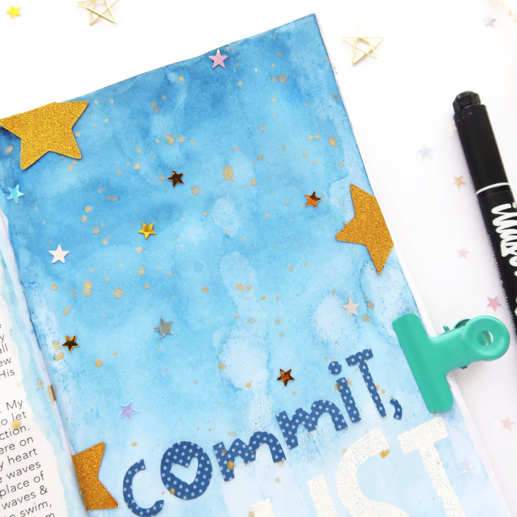 Revival Camp Commit by Jillian aka Hello Jillsky | Traveler's Notebook Process Video