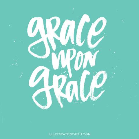 Sunday Inspiration from John 1:16