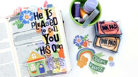 Print & Pray Hybrid Bible Journaling | His Own | 1 Samuel 20-22