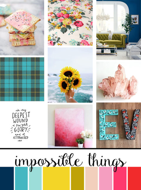 September Artist Mood Board & New Releases: Impossible Things