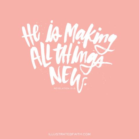 Sunday Inspiration from Revelation 21:5