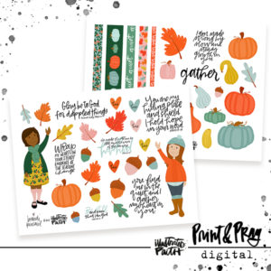 Illustrated Faith Fall Printables