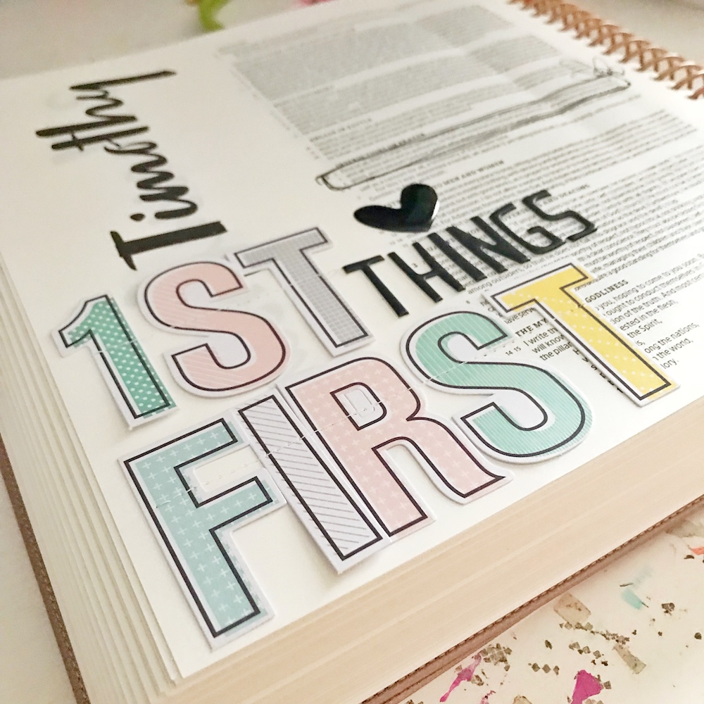 First Things First | 1 Timothy 2:1-4 | Prayer in my Illustrating Bible by April