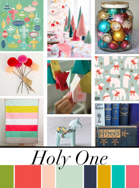 December Artist Mood Board & New Releases: Holy One