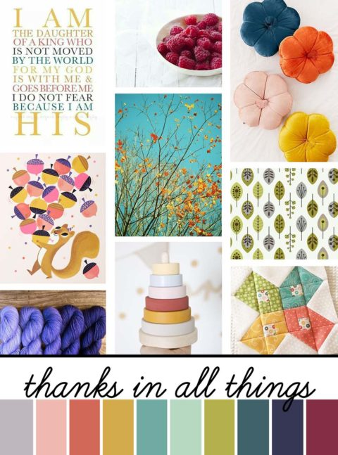 November Artist Mood Board & New Releases: Thanks in All Things