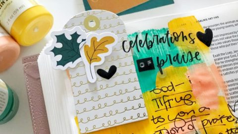 bible journaling 100 days of grace and gratitude | CELEBRATION | psalms 148:1