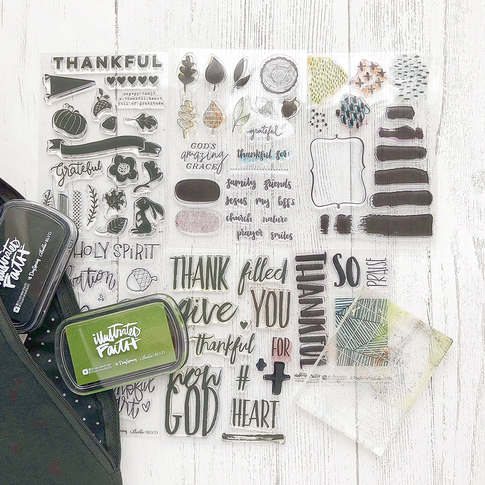 100 Days of Grace and Gratitude - Travel Edition | Mixed Media Bible Journaling and Journaling Supplies
