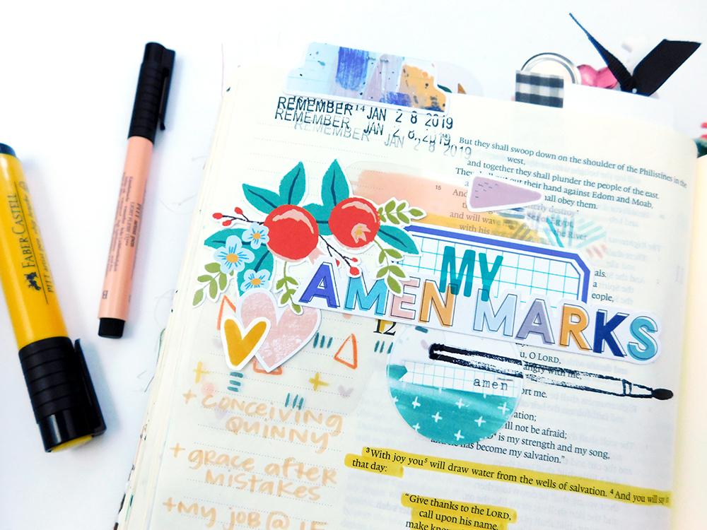 Print & Pray + The Mark Maker Kit // Part 2 - Illustrated Faith