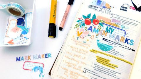 Print & Pray + The Mark Maker Kit // Part 2