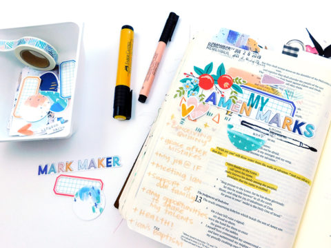 Print & Pray + The Mark Maker Kit // Part 2
